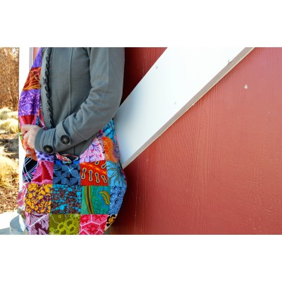Patchwork Sling Bag